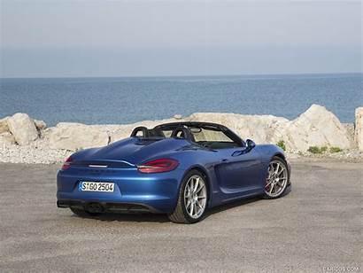 Porsche Boxster Spyder Sapphire Metallic Rear