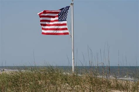 American Flag Outer Banks Beach | Village Realty OBX | Flickr