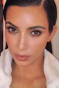 Kim Kardashian's Face Causes Chaos On Instagram | Hair & Makeup | Pinterest | Maquillage et Coiffure