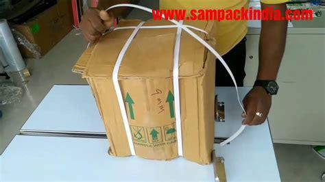 box strapping machine box packing machine youtube