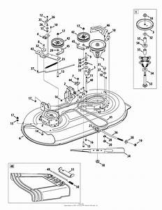 Mtd 13an771s099  247 289010   2010   Lt1500 13an771s099  2010  Parts Diagram For Mower Deck Assembly
