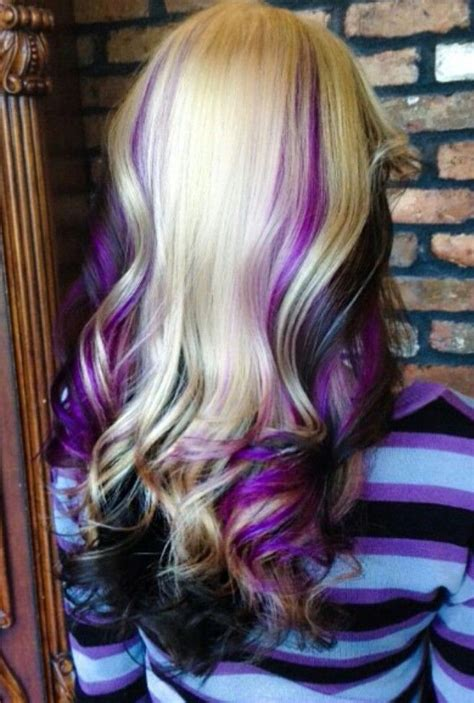 1000 Ideas About Black Hair Blonde Highlights On