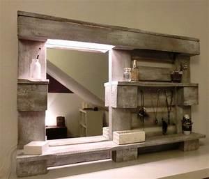 Spiegel Selber Bauen : m bel aus paletten to do at home pinterest paletten ~ Lizthompson.info Haus und Dekorationen