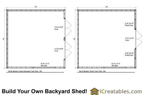 studio shed plans large modern shed plans