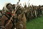 The day I saw the British army being butchered by Zulus ...
