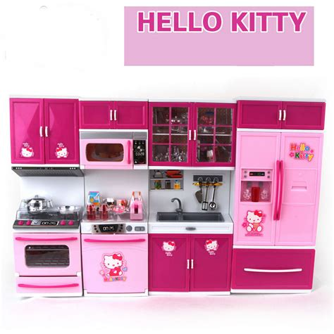 hello kitty kitchen set children s play gift hello kitty series baby happy