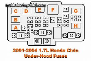 2004 Honda Civic Fuse Relay Diagram
