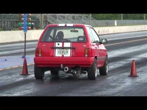 ford festiva rear mount turbo  speedworld youtube