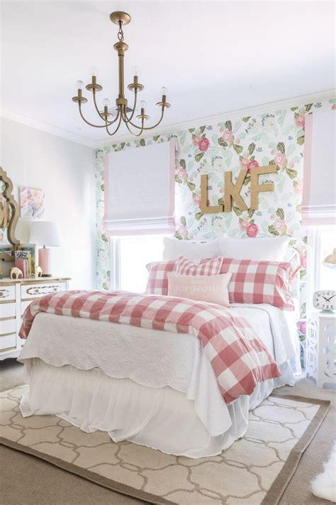 floral fun big girl room home decor style  senses