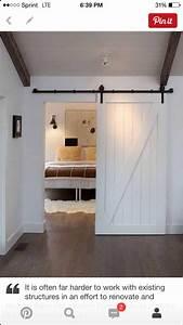 Diy Faux Barn Doors  Hollow Core Door Makeover