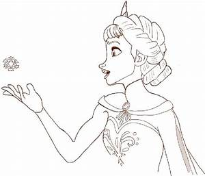 How to Draw Princess Elsa from Frozen Step by Step ...