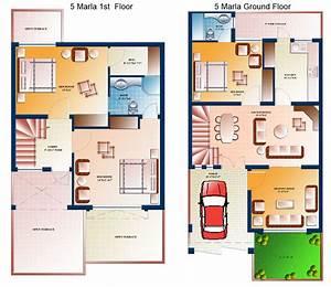 5 Marla house Plans – Civil Engineers PK