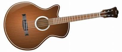 Guitar Clip Clipart Acoustic Electric Clipartix Fretboard