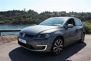 Volkswagen Hybride Rechargeable : volkswagen golf gte l 39 hybride rechargeable l essai ~ Melissatoandfro.com Idées de Décoration