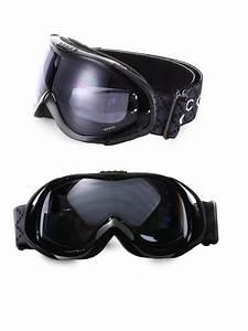 lyst gucci ski goggles in black for