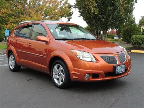 2005 pontiac vibe sport wagon 4 cyl auto moon roof 1 owner