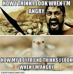 funny caption how i think i look when i'm angry how my ...
