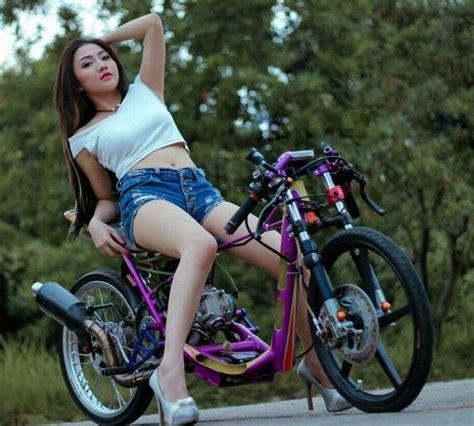 Foto Gambar Drag by 1001 Quot Foto Motor Drag Dengan Cewek Cantik Tips Modif