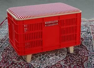 Recyclage Petite Cagette : faire le plein de plastique fait le plastique et faire ~ Nature-et-papiers.com Idées de Décoration