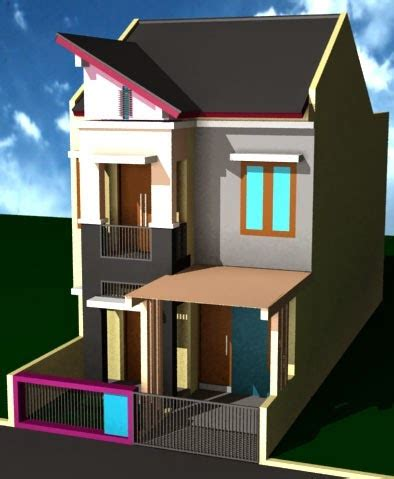 gambar rumah minimalis  lantai ukuran