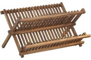 wooden wall mounted dish drying rack