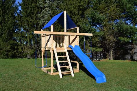 swing sets for small spaces space saver play structure outdoors space 8419
