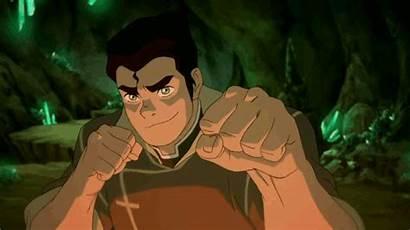 Bolin Korra Legend Avatar Wink Winking Lavabending