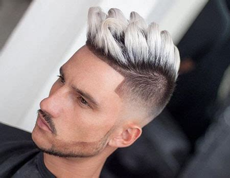 black and white hair color 18 best hair color for mens hairstyles 2018