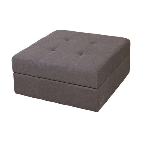 grey storage ottoman shop best selling home decor chatsworth brown grey square