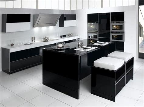 Cuisine Noir Et Blanche Noir Et Blanc Habillent La Cuisine D 233 Coration