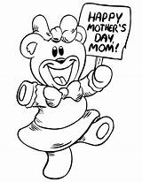 Coloring Pages Mothers Children Sheets sketch template