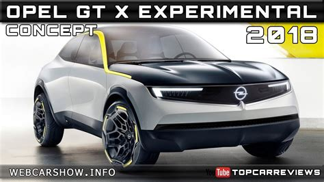 Opel Gt Price by 2018 Opel Gt X Experimental Concept Review Rendered Price