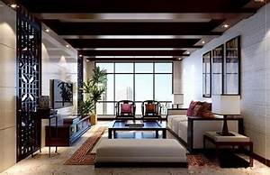 Interior decoration chinese style living room in 3d for Interior design living room kenya
