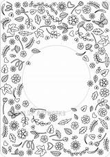 Kindness Confetti Coloring Throw Around Printable Template Blank Digital Grown Ups Cards Flower Autism Awareness sketch template