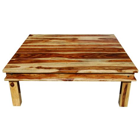 huge square coffee table large square wood rustic coffee table