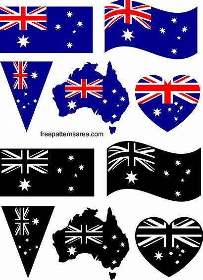 Flag Australia Freepatternsarea Graphic Stl