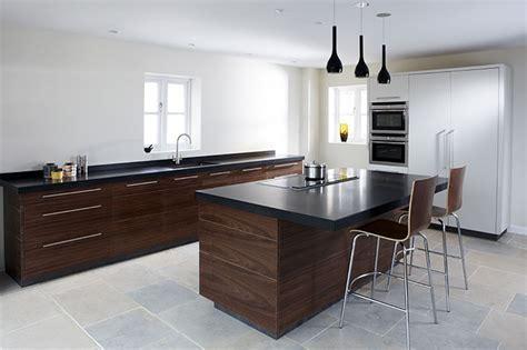 Contemporary Walnut kitchen   Eternal Kitchens