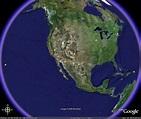 VLBA Sites on Google Earth