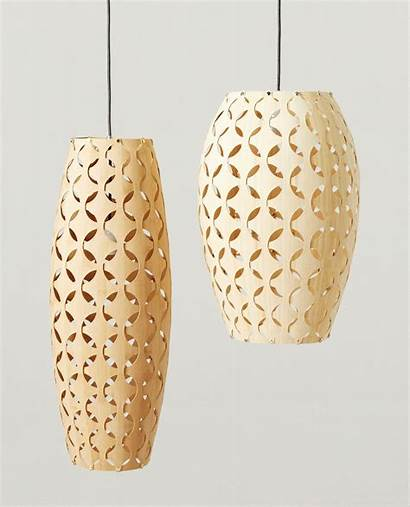 Lighting Bamboo Pendant Fixtures African Lights Wood