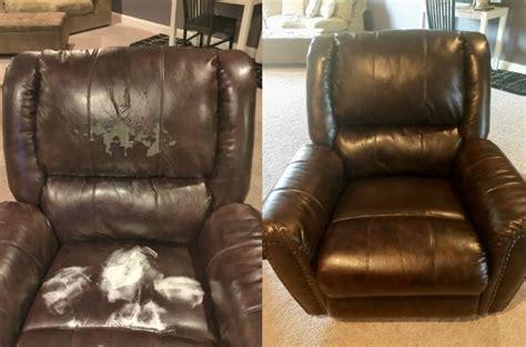 Repair In Leather Sofa by Magic Mender 174 Leather Vinyl Repair Kit For Furniture
