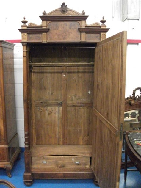 Large Wardrobes For Sale by A352 Antique Italian Wardrobe With Single Door But Large