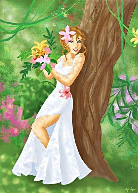 jane porter tarzan disney jane porter the bride walt disney characters fan art 21834152