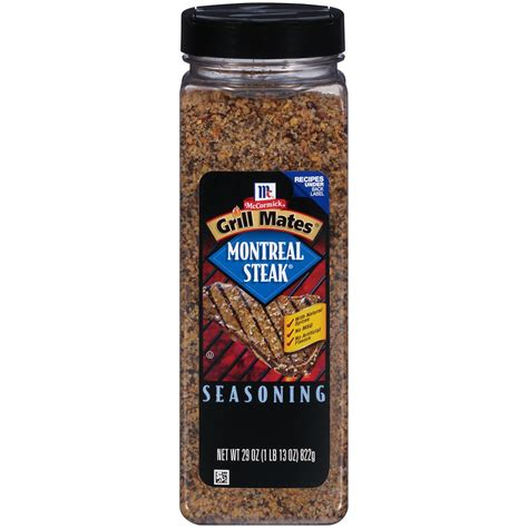 steak seasoning mccormick grill mates montreal steak seasoning 29 oz ebay