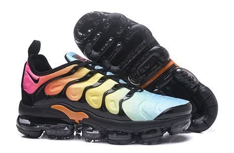 nike air vapor max  tn tpu running shoes black yellow