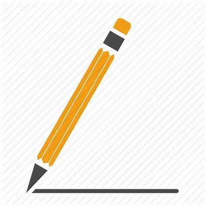 Pencil Line Icon Draw Graph Compose Write