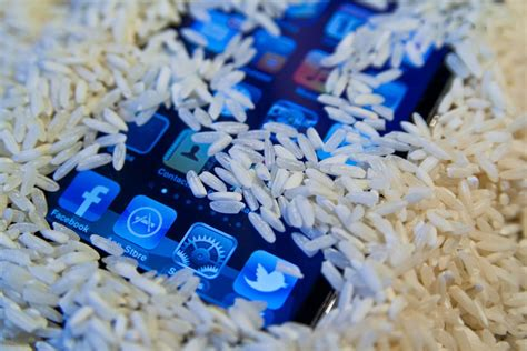 iphone in rice how long can rice actually save your wet phone the verge Iphon