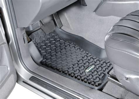 Quadratec Jeep Floor Mats by Quadratec 174 14254 7003 Ultimate All Weather Front Floor