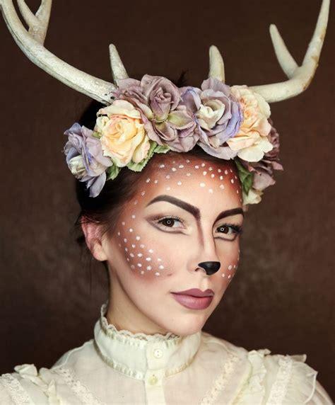 karneval kostüm reh 1001 kreative ideen f 252 r ein einfaches make up