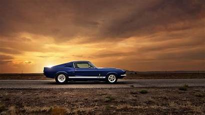 Muscle Cars American Mustang Ford Shelby Gt500