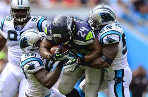 carolina panthers  seattle seahawks